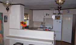 after kitchen renovate